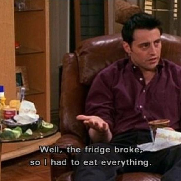 Joey  Tv show Friends Quotes
