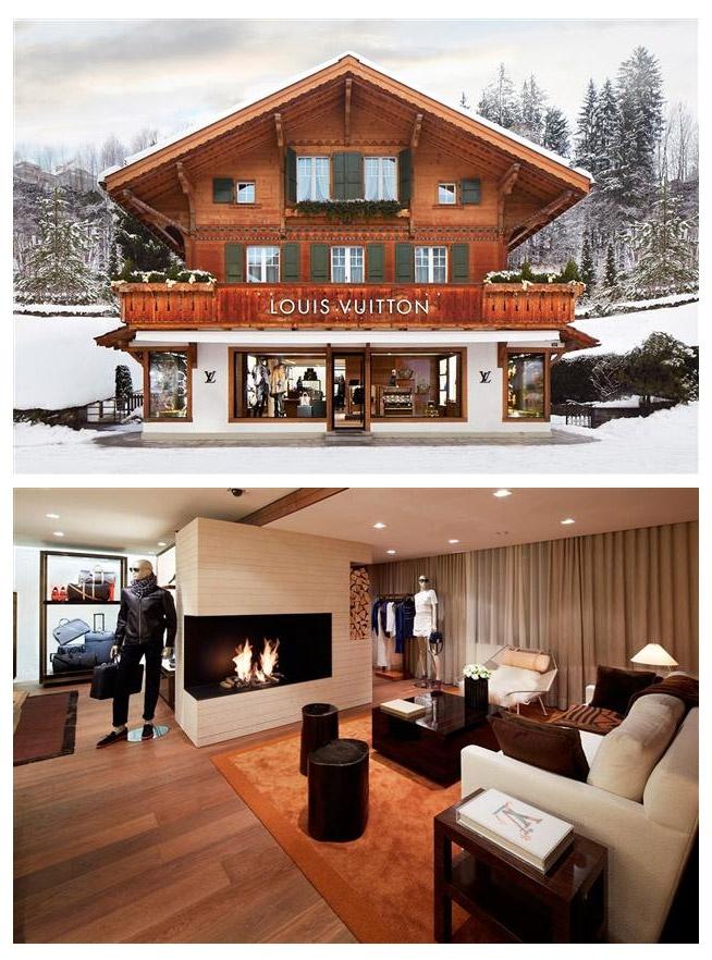 Louis Vuitton store en Suiza