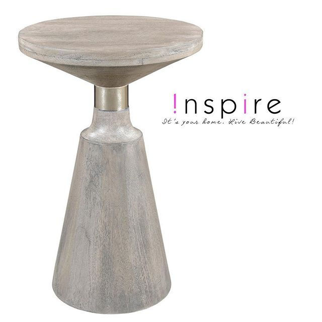 So many reasons to love the Aron accent table. It's grey-stained mango wood is 100% sustainable and the natural discoloration that occurs in mango wood adds to the depth and beauty of the piece without compromising its structural integrity. Check out our website to find out where you can buy this gorgeous piece!     http://worldwidehomefurnishingsinc.com/aron-accent-table-in-light-grey.html