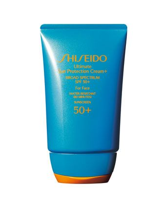 Ultimate Sun Protection Cream SPF 50 by Shiseido at Neiman Marcus.
