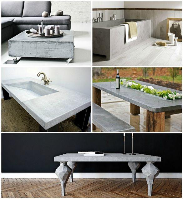 Бетонная мебель - столешницы, мойки и консоли своими руками - Дом и стройка - Статьи - FORUMHOUSE