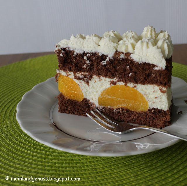 Pfirsich-Melba-Torte von Mein Land und Gartengenuss