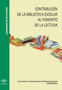 Libro:Contribución de la biblioteca escolar al fomento de la lectura DR3/BECREA