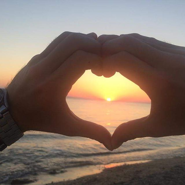 Loving sunset!