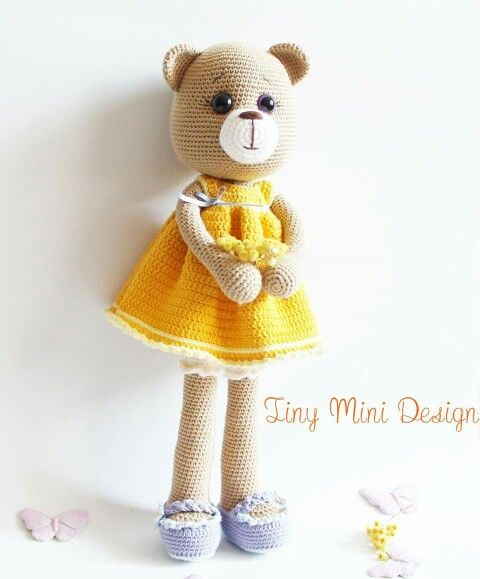 Amigurumi Bear Maya : 17 Best images about Oso Amigurimi on Pinterest Free ...