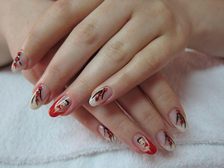 Betty Boo Nailart