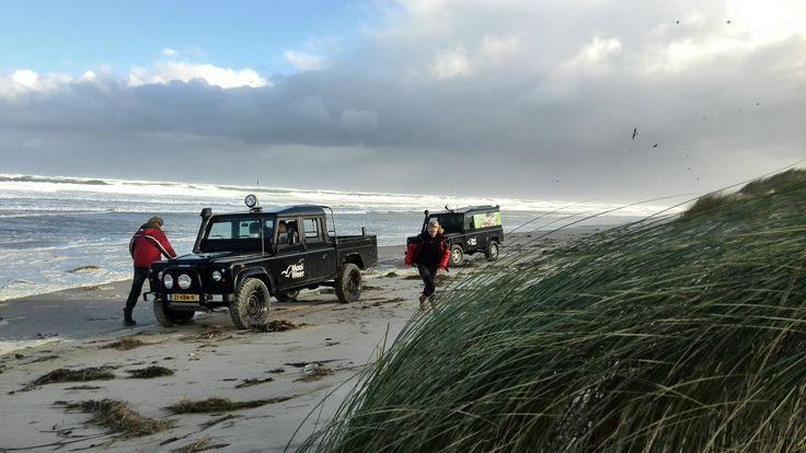 Strand jutten op Terschelling http://mooi-weer.nl