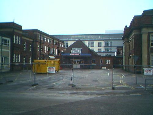 Death of a hospital - the old derby city hospital