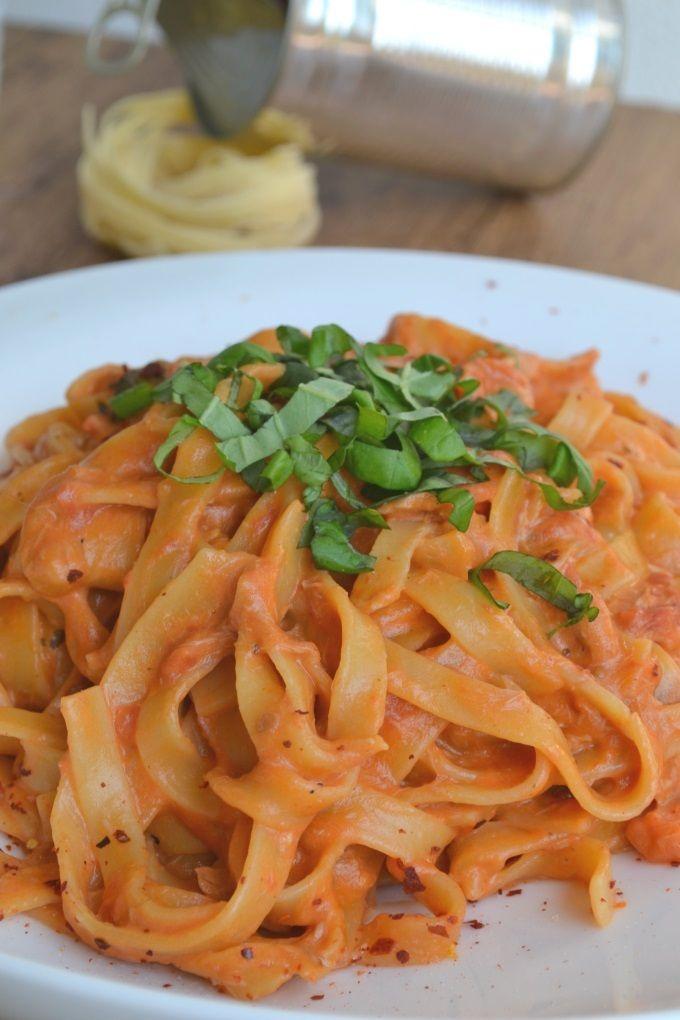 One Pot Pasta Thunfisch - nicht vegetarisch