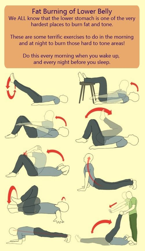 Exercises to Burn Lower Belly Fat Use these calorie burning exercises to melt the fat away. check us out at http://sittingwishingeating.com #weightlosstips