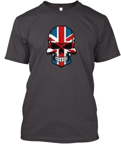 Union Jack skull tee teespring.com/stores/onpoint-tees-3