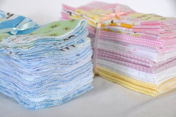 Reusabe Wipes.  Great Eco Friendly Product for your babies!  I use these and they are great!  Much gentler than wipes.