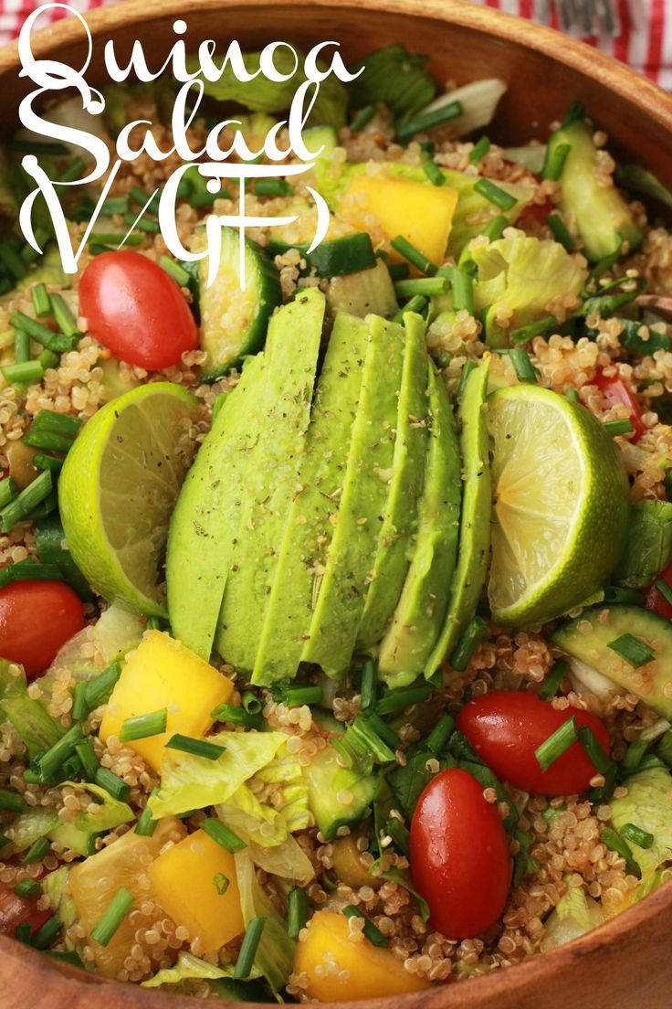 Fabulously healthy Quinoa Salad with Sesame Soy Dressing