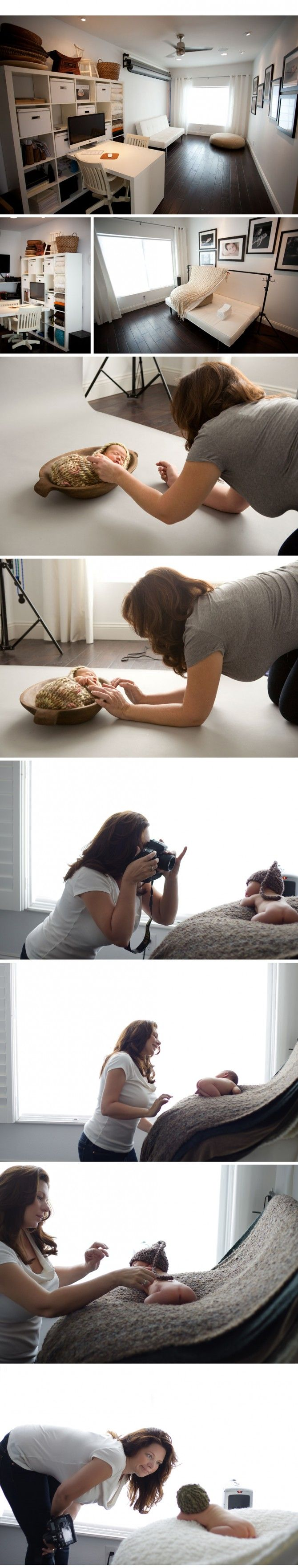 Nice and simple.: Natural Light, Newborn Photography, Photo Studio, Studio Setup, Photography Studios, Photography Ideas