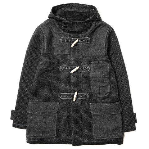 Kendo Canvas Duffle Short Coat – HAVEN