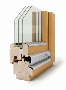 Fa ablak - Hofstädter ablakok - Standard iv78 minőségi fa nyílászáró