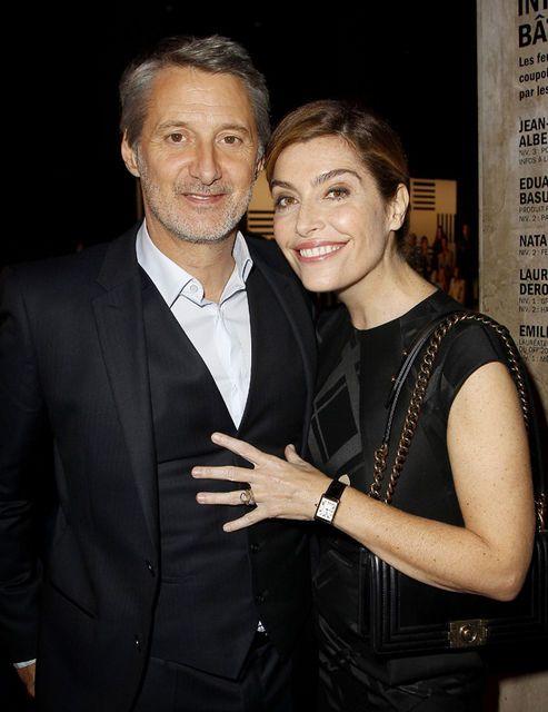 Antoines de Caunes et son épouse Daphné Roulier