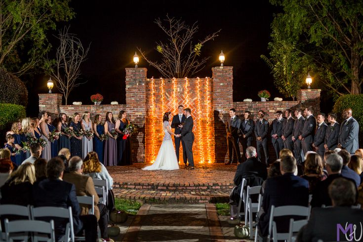 When planning your wedding double check what time the sunset is (and when daylight savings is)  If your ceremony is at night make sure your wedding photographer is equipped and comfortable with flash photography.