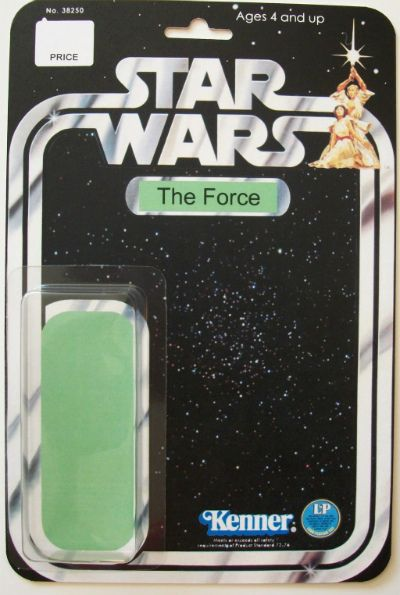 "Your Star Wars Figure Collection Is Incomplete Without ""The Force"""