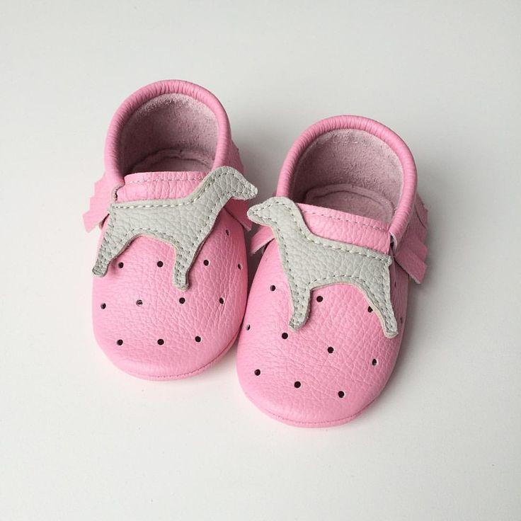 Baby moccs custom order 🐶