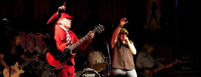 AC/DC tribute band Dirty DC wowed the assembled rockers at Hammerfest IV with a set filled with some of the Aussie rocker greatest hits.