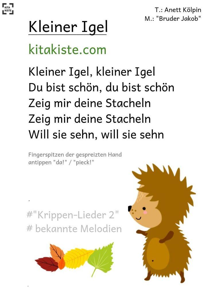 """""""Kleiner Igel"""" – Krippe"""