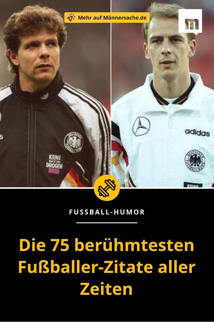 Fußball Sprüche Die 75 Berühmtesten Fußballer Zitate Aller
