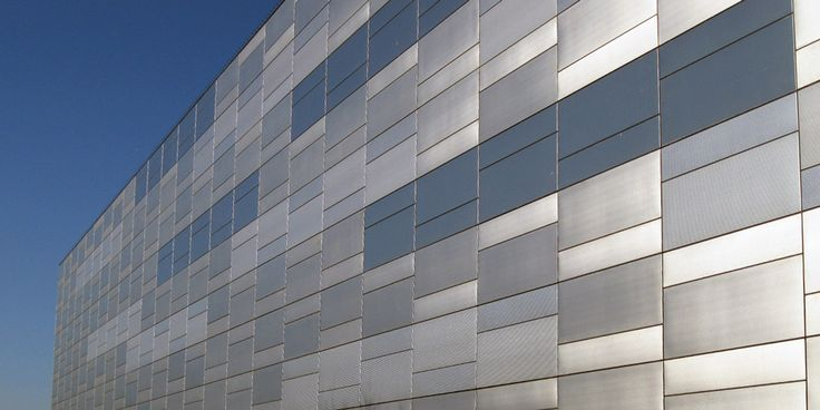 Found Somewhere On Google Images Metal Facade Panels In