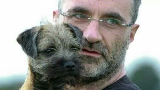 Supervet Noel Fitzpatrick and his Border Terrier Kira... I cannot be the only one who finds him really hot :)