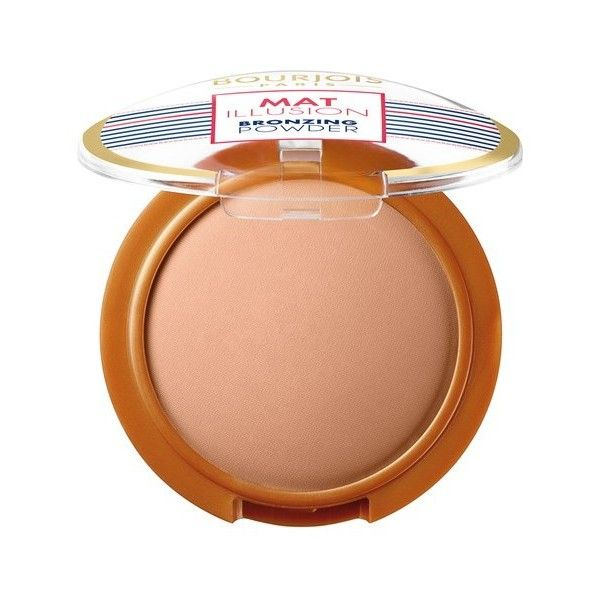 Bourjois Matt Illusion Bronzing Powder (Various Shades) found on Polyvore