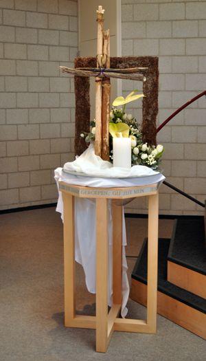 Liturgisch bloemschikken - Pasen 2012