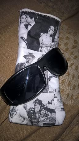 Greek cinema sunglasses case