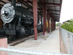 What to do in Vegas with kids - train ride to Boulder City (weekends only) Nevada Southern Railway