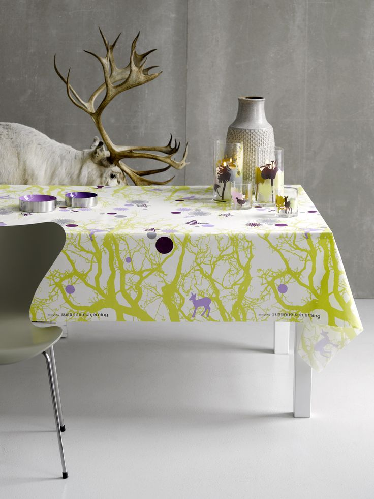 Winterbranch Lilac - design by Susanne Schjerning