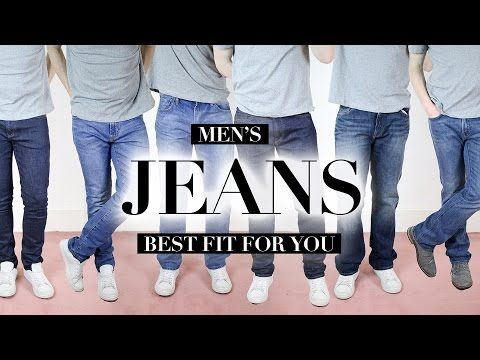 Are You Wearing The Right Fit of Jeans? | Men's Style Staples - YouTube
