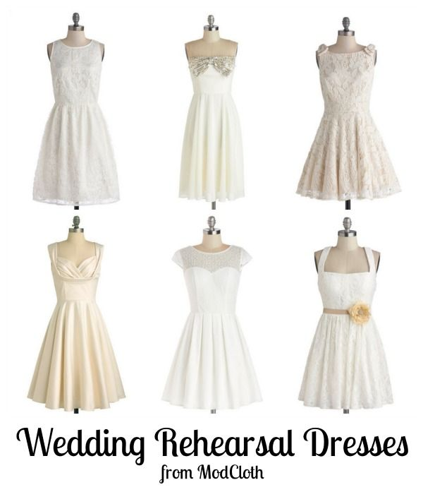 Wedding Rehearsal Dresses from ModCloth http://www.midsouthbride.com/wedding-rehearsal-dresses-from-modcloth/