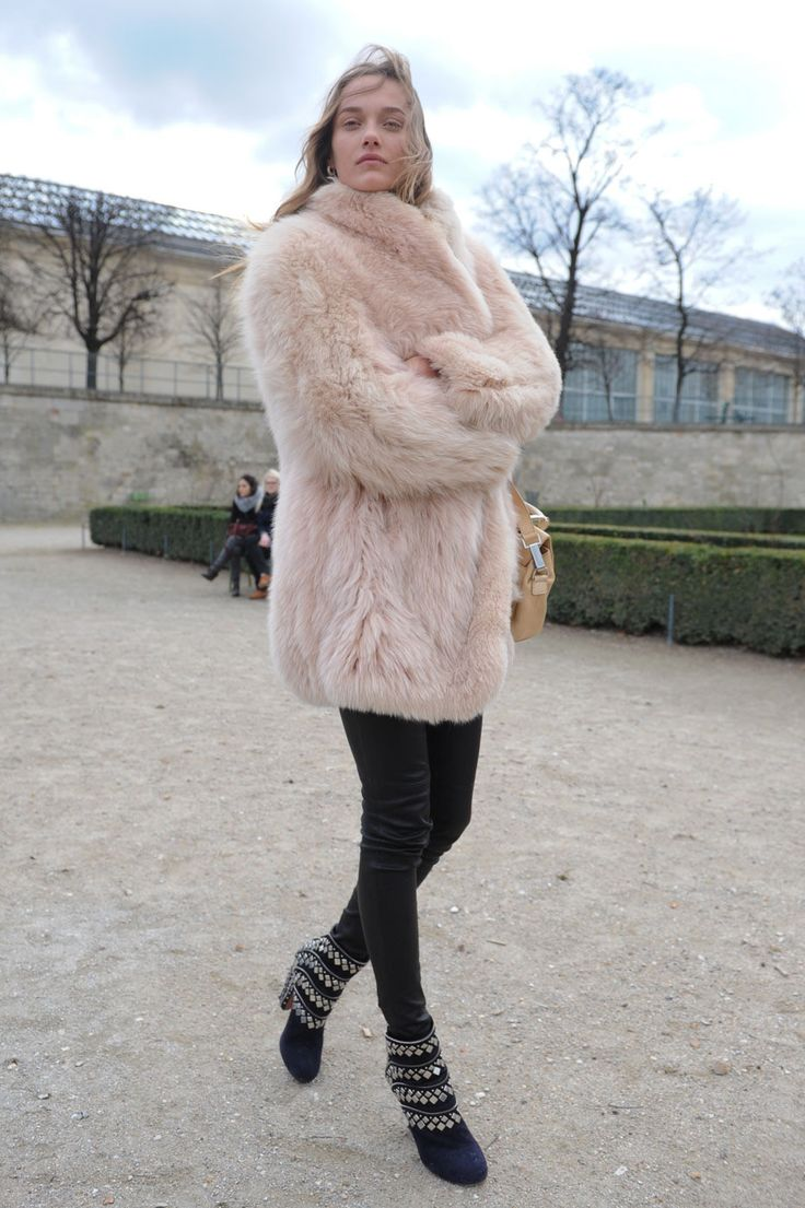 17 Best images about Fall Obsession: the blush pink shaggy jacket ...
