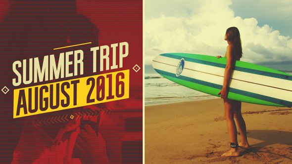 Download after effects project here: https://videohive.net/item/summer-trip/16804831