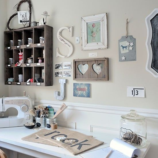 Home office   New England-style home   House tour   PHOTO GALLERY   Ideal Home   Housetohome.co.uk