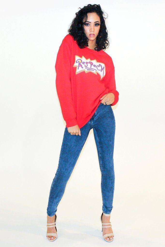 Respeck Retro Unisex Sweatshirt