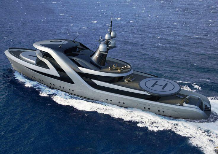 Yachts de luxe : les concepts les plus fous  icon H2