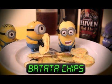 Aprenda a fazer batata chips no microondas | Catraca Livre