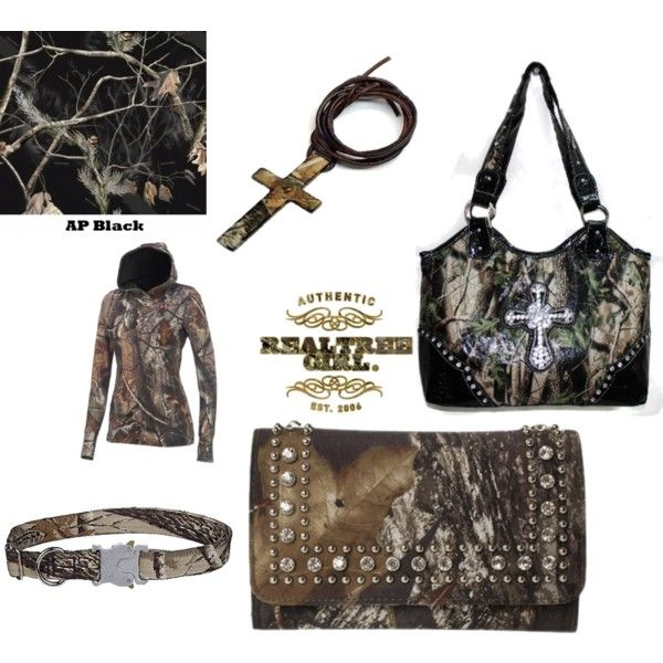 """random camo stuff"" by realtreegirl1 on Polyvore"