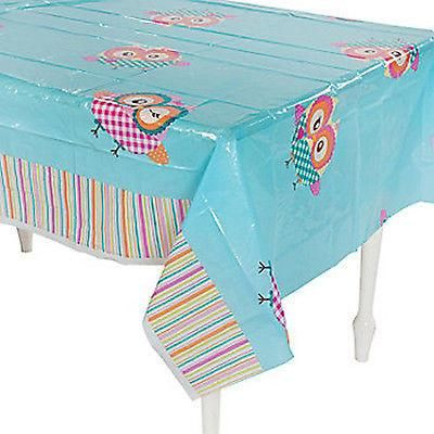 Owl Party Tablecover / Tablecloth