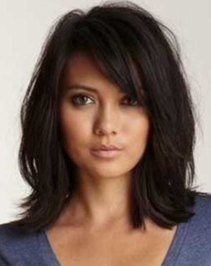 shoulder long hair cut