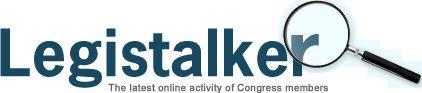 Legistalker.org  The latest online activity of Congress members.