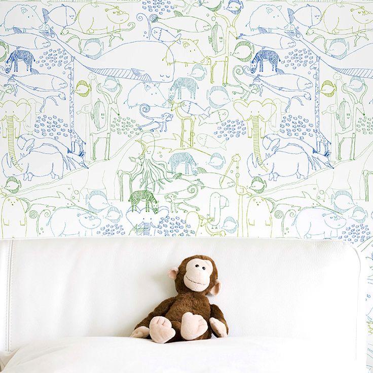 Papeles pintados reutilizables de Chispum ::: Reusable wallpapers by Chispum