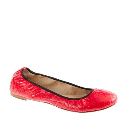 Collection Lula snakeskin ballet flats: Collection Lula, Color, Lula Snakeskin, Snakeskin Ballet, Flats Shoes, Ballet Flats, Flat Shoes, J Crew Collection, Ballerina Flats