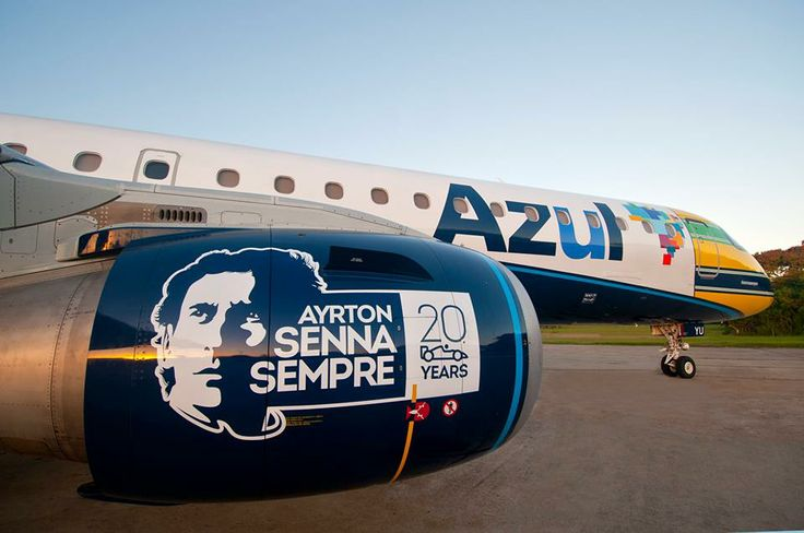 Azul Brasil - Senna 20 anos
