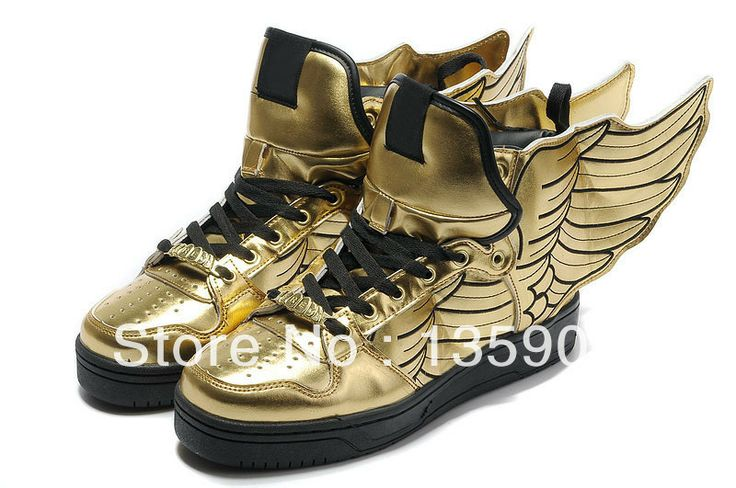 Golden Wing Shoes Shoes Pinterest Shoes Wings And